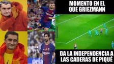 Barcelona es víctima de memes tras empatar contra Atlético de Madrid