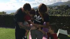Antonella Roccuzzo confirmó que Messi será padre por tercera vez