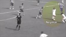 Así jugaba Neymar en los juveniles del Santos cuando tenía 14 años