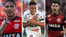Guerrero, Trauco y Cueva en el equipo ideal de extranjeros del Brasileirao