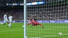 La gran atajada de Keylor Navas para evitar el gol de Harry Kane