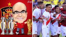 Mister Chip dio a Perú como favorito ante Nueva Zelanda en el repechaje