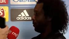 YouTube | Marcelo discutió con periodista luego del empate ante Tottenham