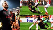 Tiki taka y chalaca: el golazo de Giroud en la Europa League