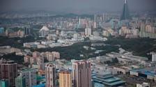 Así luce Pyongyang, la capital de Corea del Norte, desde el cielo