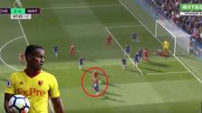 YouTube | El golazo de 'tres dedos' del Watford de André Carrillo ante Chelsea