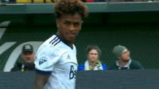 YouTube   Yordy Reyna se lució con asistencia para el gol del Vancouver