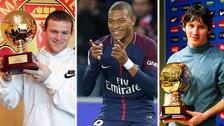Los 15 futbolistas que han ganado el Golden Boy
