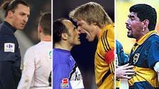 Los futbolistas más polémicos en la historia del fútbol