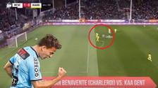 YouTube | El doblete de Cristian Benavente desde todos los ángulos