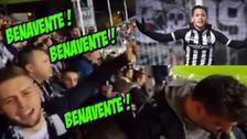 YouTube | Benavente fue ovacionado por los hinchas del Sporting Charleroi