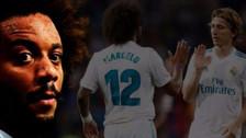 La discusión entre Marcelo y Modric en pleno partido contra el Girona