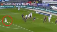 La excelente definición de Ivan Perisic en la victoria del Inter de Milán