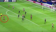 YouTube   Thomas de Atlético de Madrid anotó de larga distancia en la Champions