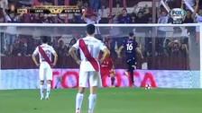 Con este curioso tiro de penal Lanús clasificó a la final de la Copa Libertadores