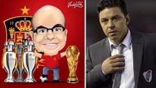 Misterchip se burló de hincha de River Plate por quejarse del VAR