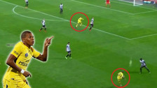 YouTube   Gol de Mbappé: definió en primera tras gran pase de Dani Alves