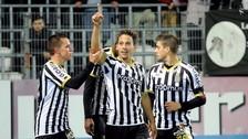 Cristian Benavente anotó un doblete y es la figura del Sporting Charleroi