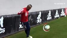 Arturo Vidal sorprende con golazo olímpico de rabona