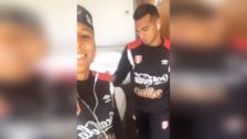 YouTube | Raúl Ruidíaz hizo bailar a Miguel Trauco en plena concentración