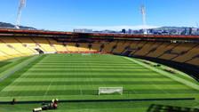 Así luce el campo del Westpac Stadium, escenario del Perú vs. Nueva Zelanda
