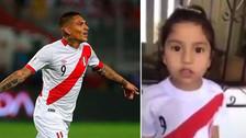 Paolo Guerrero: niña le dedicó conmovedor mensaje de aliento