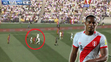 Perú: André Carrillo le hizo una 'huacha' a jugador de Nueva Zelanda