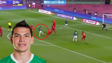 YouTube | Hirving Lozano anotó un golazo de volea ante Bélgica