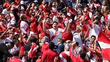 El inesperado gesto de un chileno en el partido de Perú en Nueva Zelanda