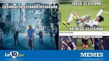 Bale protagoniza los memes tras lesionarse en las prácticas de Real Madrid