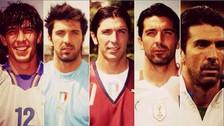 La historia de Gianluigi Buffon en los mundiales
