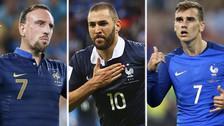 Las estrellas que fueron separadas de la Selección de Francia