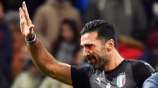 Las lágrimas de Gianluigi Buffon tras la eliminación de Italia