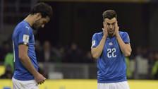 Italia fuera de Rusia 2018: el rostro triste de sus jugadores
