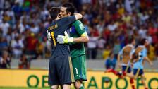 Gianluiggi Buffon recibió conmovedor mensaje de Iker Casillas