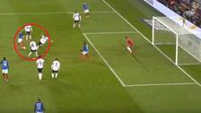 YouTube | Martial dejó en el piso a defensa alemán previo al gol de Lacazette