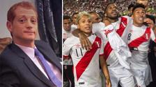 Así celebró Martín Liberman la clasificación de Perú a Rusia 2018