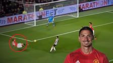 YouTube | Zlatan Ibrahimovic y su remate de 'tijera' que casi termina en golazo