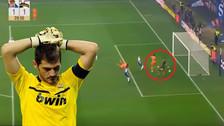 YouTube | Casillas cometió un blooper en su vuelta al titularato en Porto