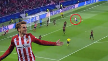 YouTube | Griezmann anotó golazo de 'tijera' en triunfo del Atlético de Madrid