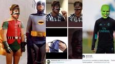 Sergio Ramos publicó una foto con su máscara y es víctima de los memes