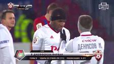 Jefferson Farfán le dio la victoria al Lokomotiv con un gol al último minuto