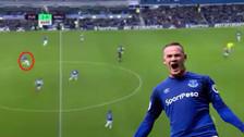 ¡Directo al Púskas! Wayne Rooney anotó un golazo desde atrás del mediocampo