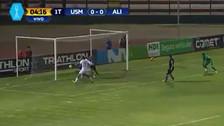 Alianza Lima sufrió polémico gol de la San Martín a los 4 minutos