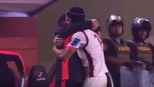 Video | El emotivo abrazo entre Pedro Troglio y Werner Schuler