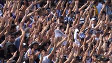 Así celebraron los hinchas de Alianza Lima tras el pitazo final