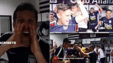 Jugadores de Alianza Lima celebraron en el vestuario tras ganar el título
