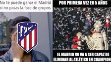 Atlético de Madrid es víctima de memes tras quedar eliminado de la Champions