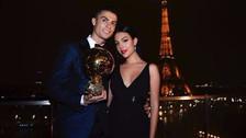 Por ganar el Balón de Oro: Cristiano Ronaldo recibió romántico mensaje de Georgina