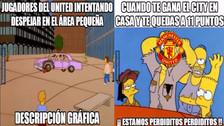Manchester City protagoniza los memes tras derrotar al Manchester United